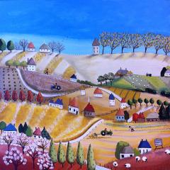 A little Hillside Village